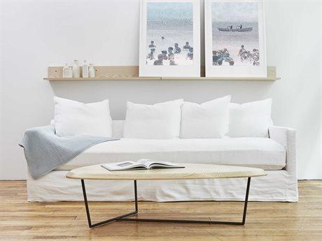 Gus* Modern Carmel Sofa Set GUMECSFCRMEDENWHISET