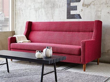 Gus* Modern Carmichael Andorra Sumac Loveseat Sofa