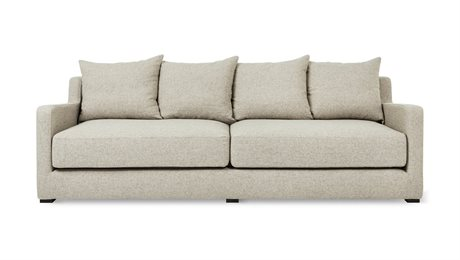 Gus* Modern Flipside Leaside Driftwood Sofa Bed