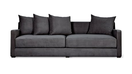 Gus* Modern Flipside Velvet Mercury Sofa Bed