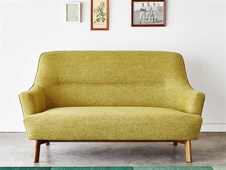 Gus* Modern Hilary Bayview Dandelion Loveseat Sofa