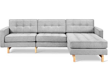 Gus* Modern Jane Sectional Sofa GUMECSCJAN2BAYSIL