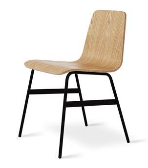 Gus* Modern Lecture Natural Ash Side Dining Chair GUMECCHLECTAN