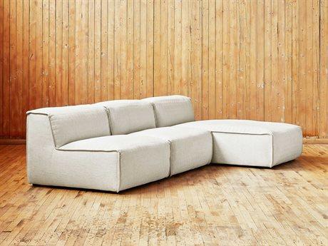 Gus* Modern Nexus Thea Moonstone Sectional Sofa GUMECMONSALTHEMOOSET
