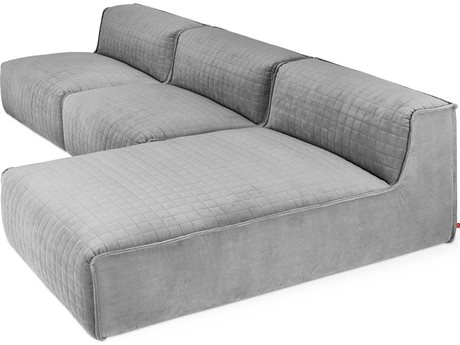 Gus* Modern Nexus Velvet London Sectional Sofa GUMECMONSCHVELLONSET