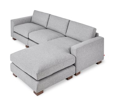 Gus* Modern Parkdale Parliament Stone Sectional Sofa GUMECSCPARKPARSTO