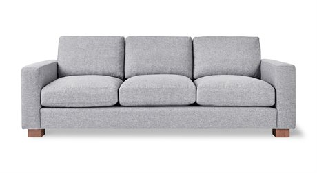Gus* Modern Parkdale Parliament Stone Sofa Couch