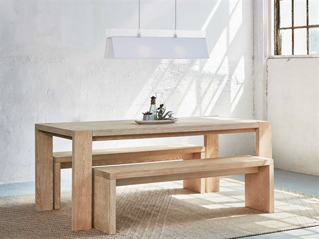 Gus* Modern Plank Dining Room Set