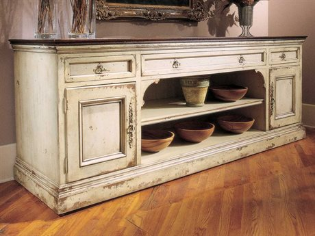 Habersham Sussex 99 x 29 Sideboard with Carved Top