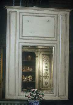 Habersham Large Trumeau 46 x 62 Wall Mirror HA044038