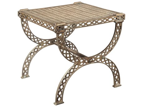Hekman Accents Grate Top X-Bench/Side Table HK27585