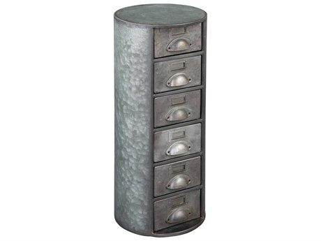 Hekman Accents Metal Special Reserve Six-Drawer Round Chest HK27695