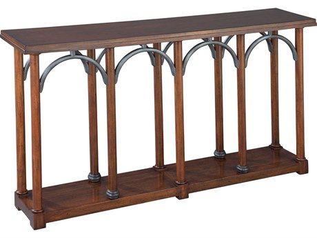Hekman Accents Arched Front Special Reserve 56'' x 12'' Rectangular Console Table
