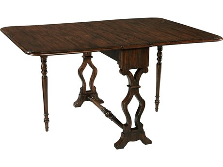 Hekman Accents Wool Wax 57'' x 40'' Rectangular Drop-Leaf Table