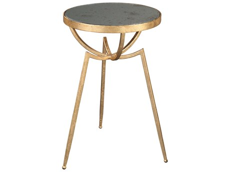 Hekman Accents Gold Leaf Special Reserve 16.09'' Round Tripod Table