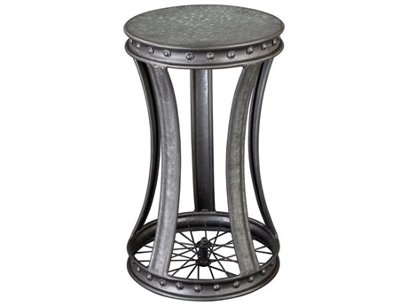Hekman Accents Wheel Special Reserve 14'' Round End Table
