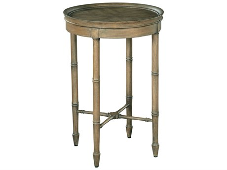 Hekman Accents Golden Mahogany 16'' Wide Round End Table