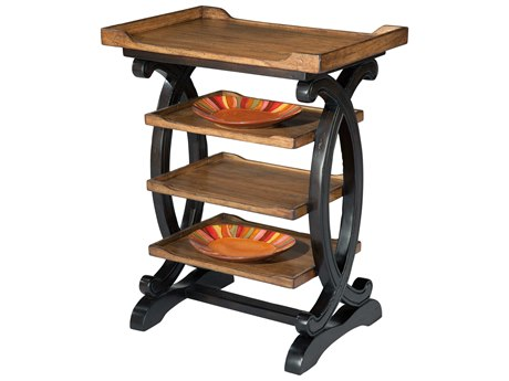 Hekman Accents Caramel & Mocha Four Tier Table
