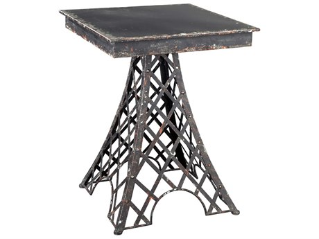 Hekman Accents Eiffel Tower Special Reserve 23.5'' Square Accent Table HK27697