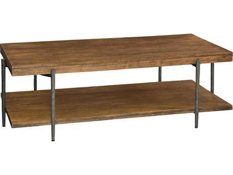 Hekman Bedford Park 58'' x 30'' Rectangular Coffee Table with Shelf HK23701