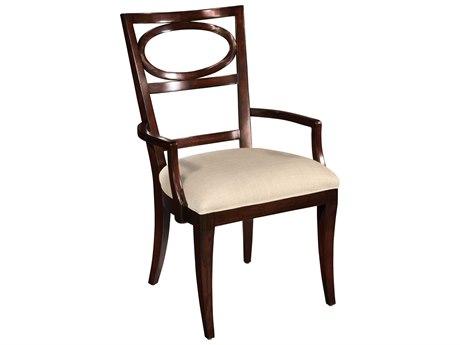Hekman Central Park Oval Back Arm Chair
