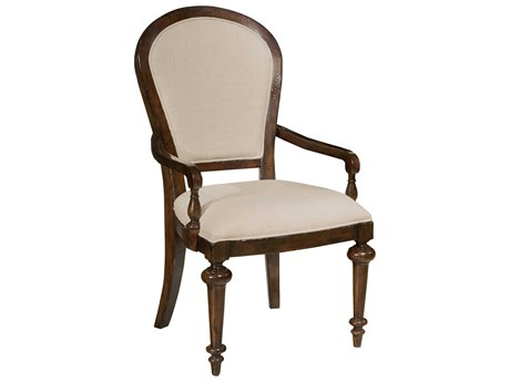 Hekman Charleston Place Oval Upholstered Arm Chair