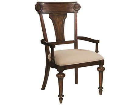 Hekman Charleston Place Panel Upholstered Arm Chair