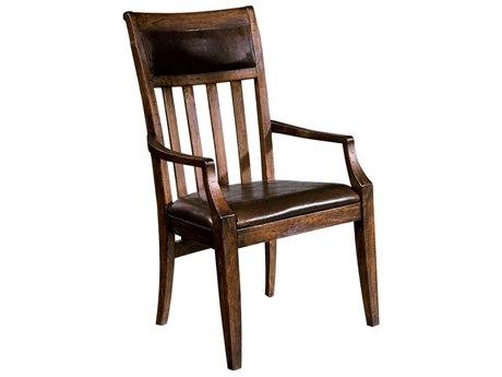 Hekman Harbor Springs Rustic Hardwood Arm Chair