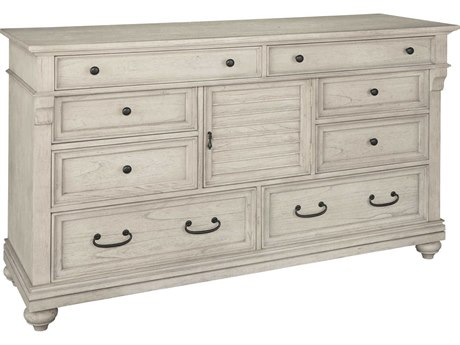 Hekman Homestead Linen 8 Drawers and up Double Dresser HK12260LN