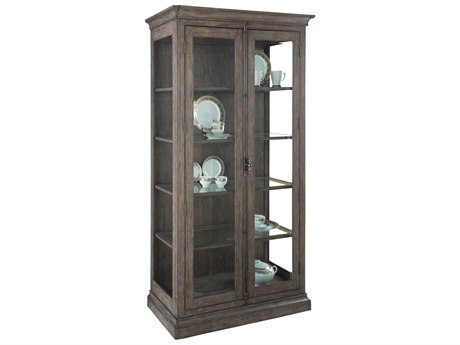 Hekman Lincoln Park Five-Shelf China Display Cabinet HK23528