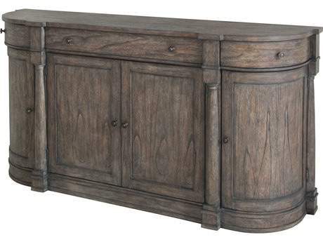 Hekman Lincoln Park Curved End Three-Drawer / Four-Door Buffet HK23527