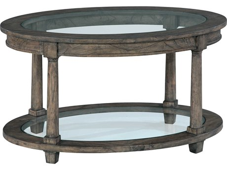 Hekman Lincoln Park 37'' x 25'' Oval Coffee Table HK23505