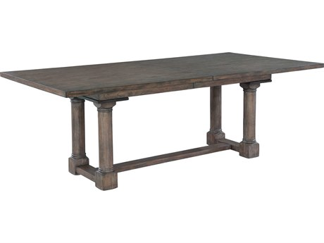 Hekman Lincoln Park Trestle 86'' x 44'' Rectangular Dining Table