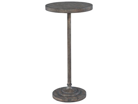 Hekman Lincoln Park Slip Post Chairside 12'' Round Pedestal Table HK23510