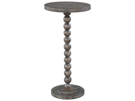Hekman Lincoln Park Beaded Post Chairside 12'' Round Pedestal Table HK23511