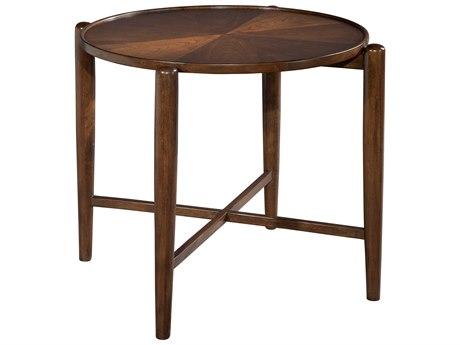 Hekman Mid Century Modern Walnut Century Modern Round Side Table HK951306MW