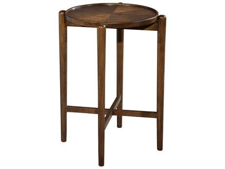 Hekman Mid Century Modern Walnut Drinks Table HK951313MW