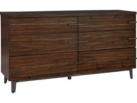 Hekman Monterey Point 6 Drawers Double Dresser