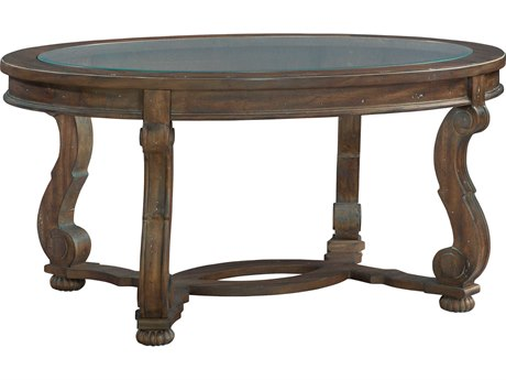 Hekman Napa Valley 44'' x 28'' Oval Coffee Table