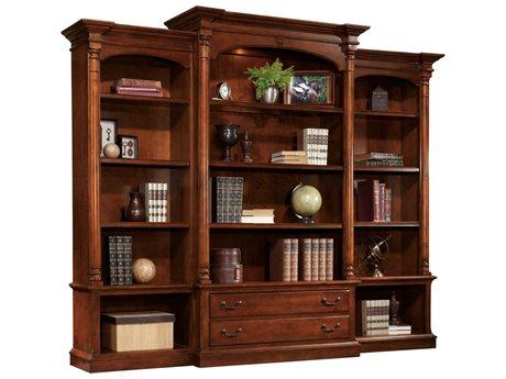 Hekman New Office Executive Bookcase Set HK79274SET1
