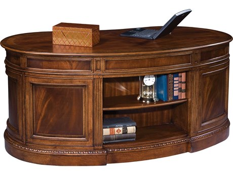 Hekman New Orleans 68'' x 35'' Kidney Desk HK11340