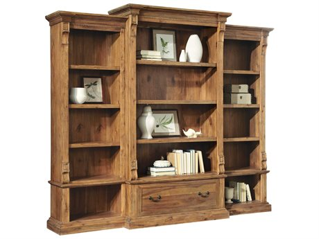 Hekman Office Express Relaxed Classic Center Bookcase Set HK79304SET1