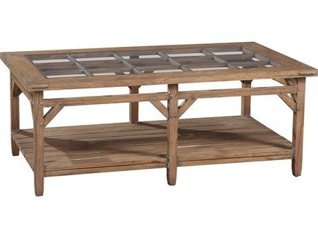 Hekman Suttons Bay Weathered Primitive Rectangular Coffee Table HK14100