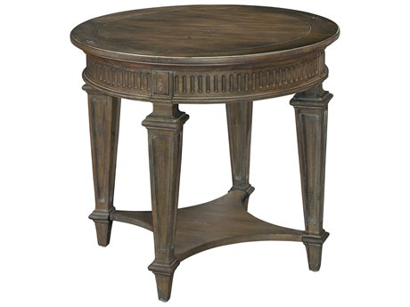 Hekman Turtle Creek 28'' Wide Round End Table