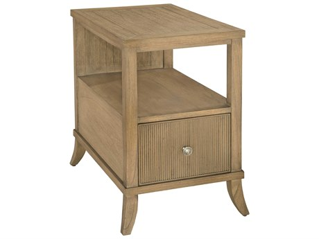 Hekman Urban Retreat Khaki Chairside Table with Drawer