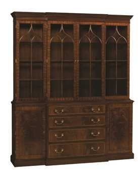 Henkel Harris Breakfront China Cabinet HH2372CL