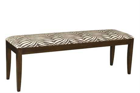 Henkel Harris 54 x 15 Rectangular Upholstered Bench