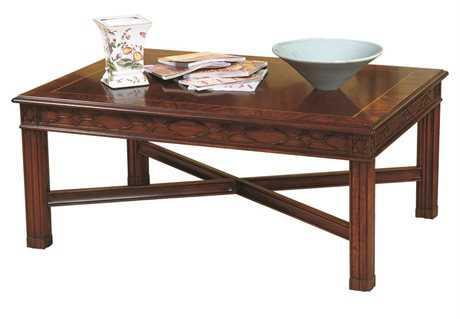 Henkel Harris 46 x 38 Rectangular Coffee Table