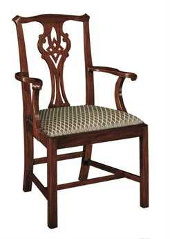 Henkel Harris Chippendale Arm Chair HH102A