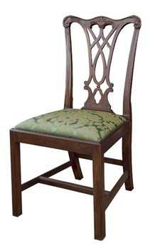 Henkel Harris Chippendale Side Chair HH107S